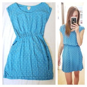 Mossimo Blue Mini Dress Size S EUC